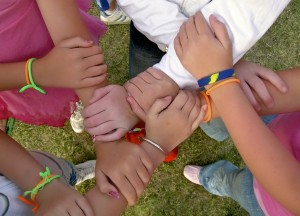 friends, hands, friendship bracelets