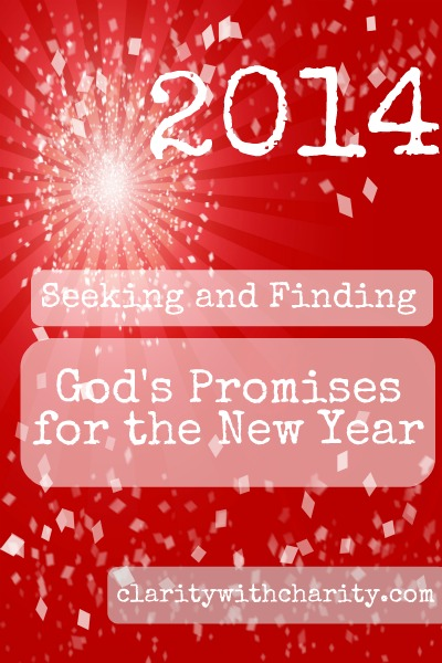 2014 new years resolution, goals and God's promises for the new year