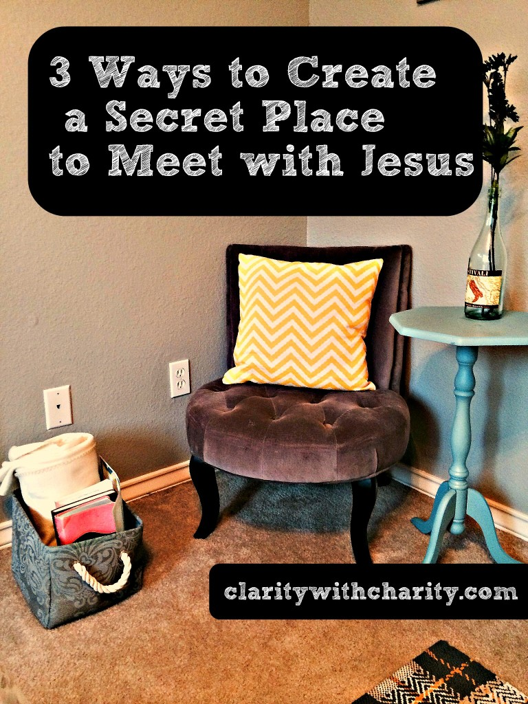 Secret Place with Jesus