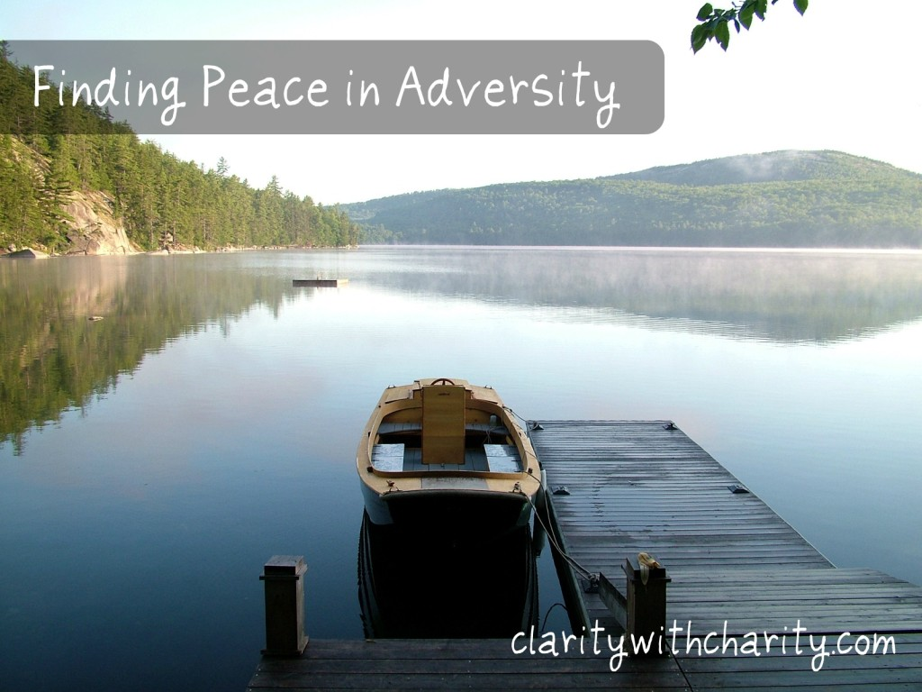 peace in adversity