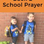 Back 2 School Prayer